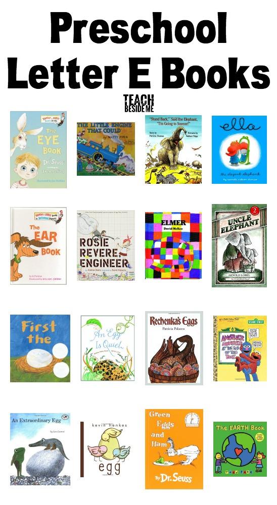 Preschool Letter E Books