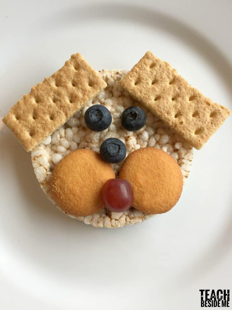d is for dog preschool snack