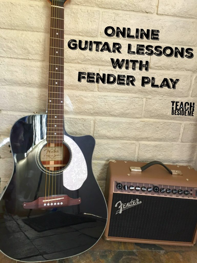 Online Guitar Lessons with Fender Play