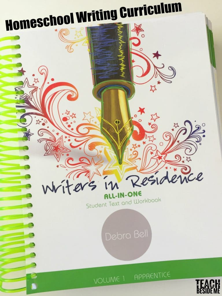 Homeschool Writing Curriculum- Writers in Residence