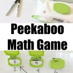 How to Make a Playful Peekaboo Math Game Kids Will Adore