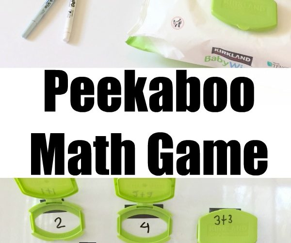 How to Make a Playful Peekaboo Math Game Kids Will Adore