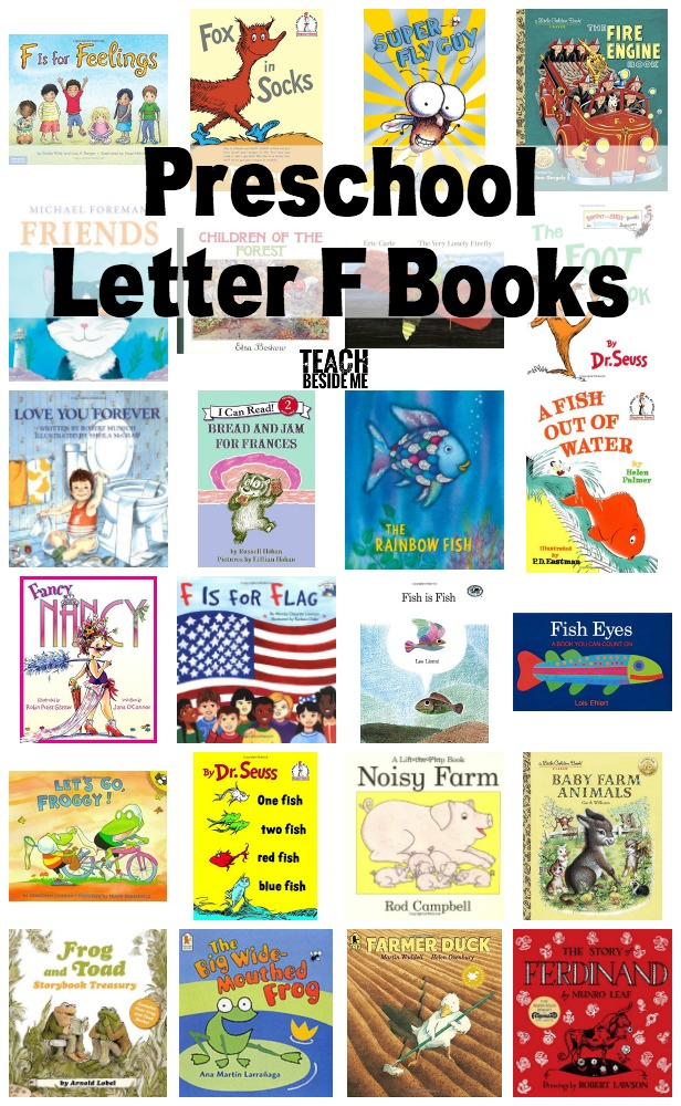 Preschool Letter F Books