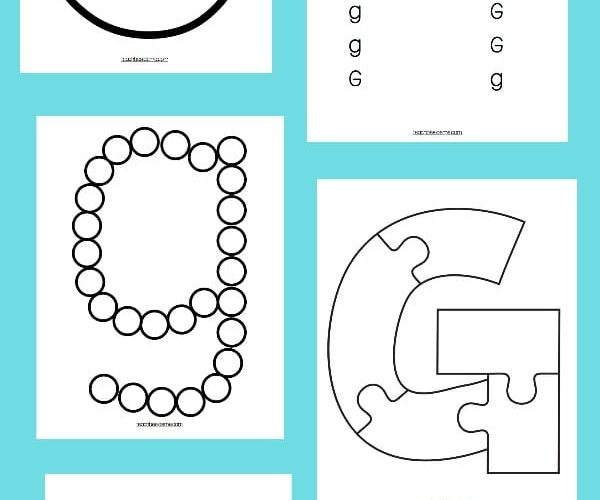 Letter of the Week: Preschool Letter G Activities