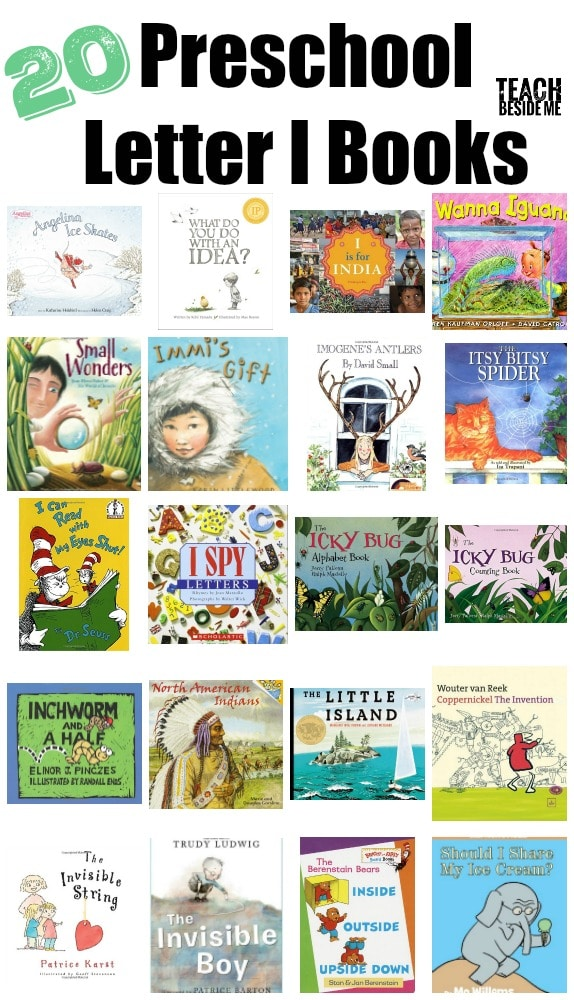 20 Preschool letter I Books