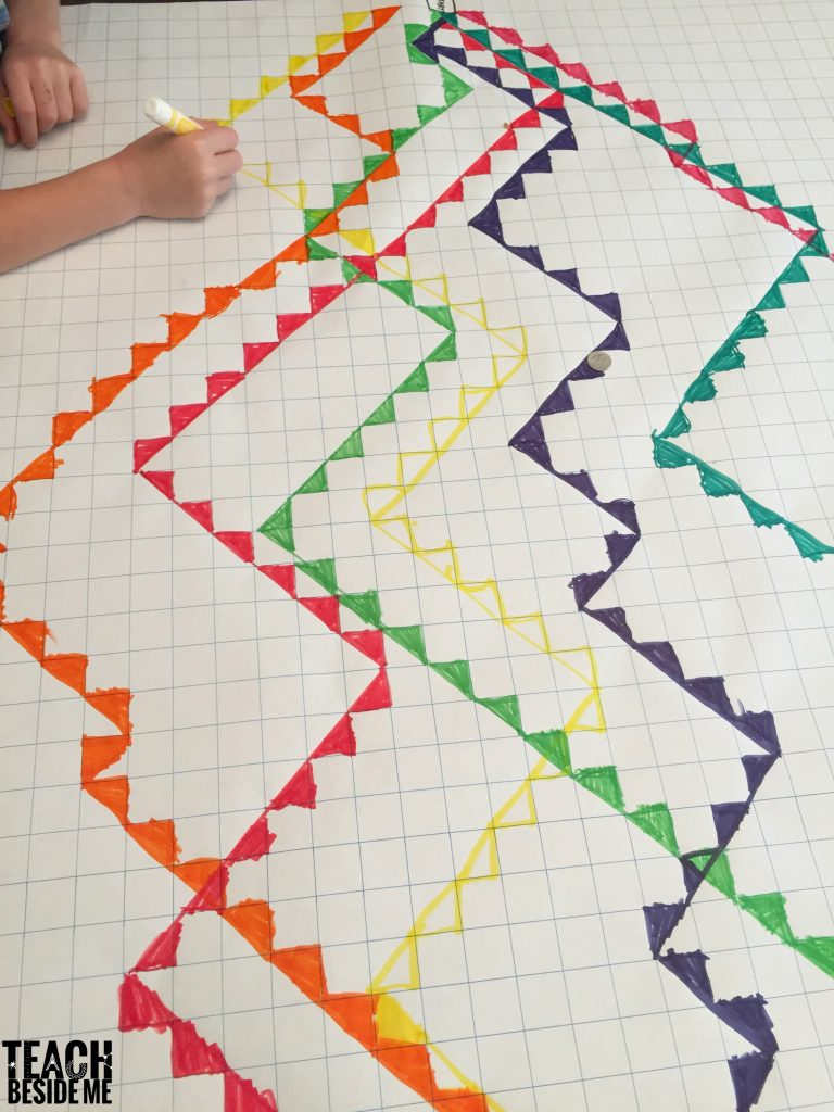 fun math game  the great graphing race