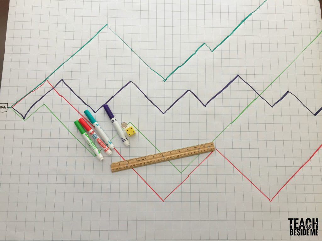 graphing game math activity