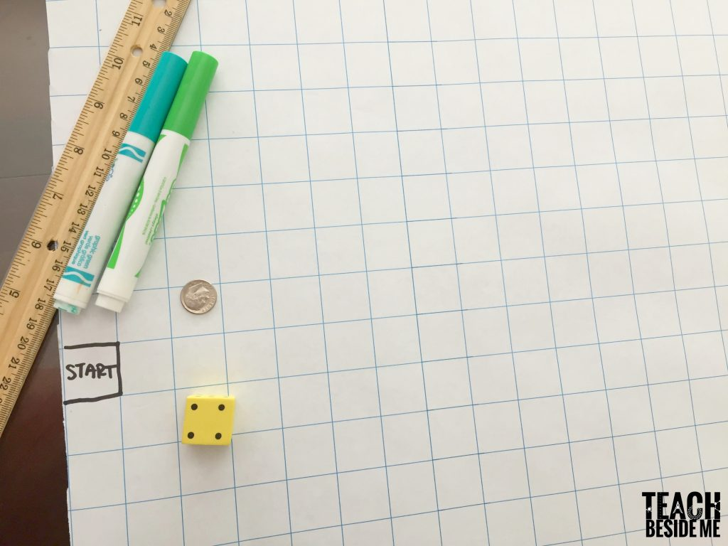 graphing race math game