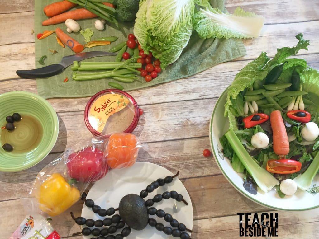 halloween veggie platter ideas