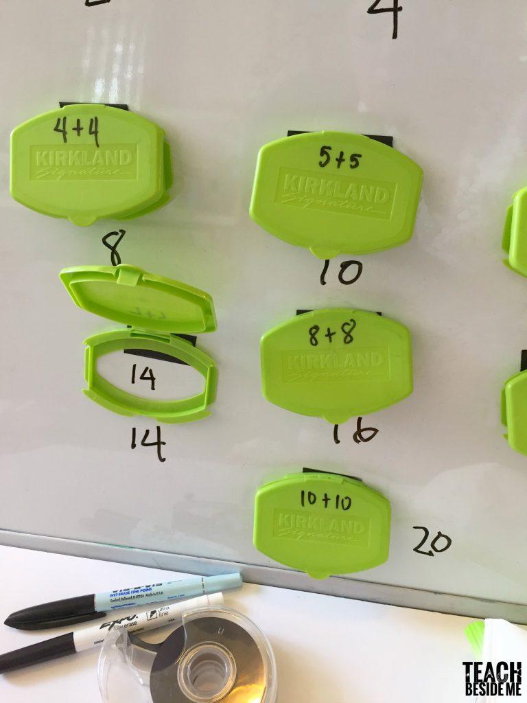 math game: self-checking