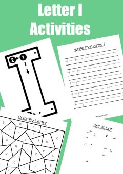 Letter of the Week: Preschool Letter I Activities