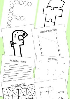 Preschool Letter F Activities: Letter of the Week