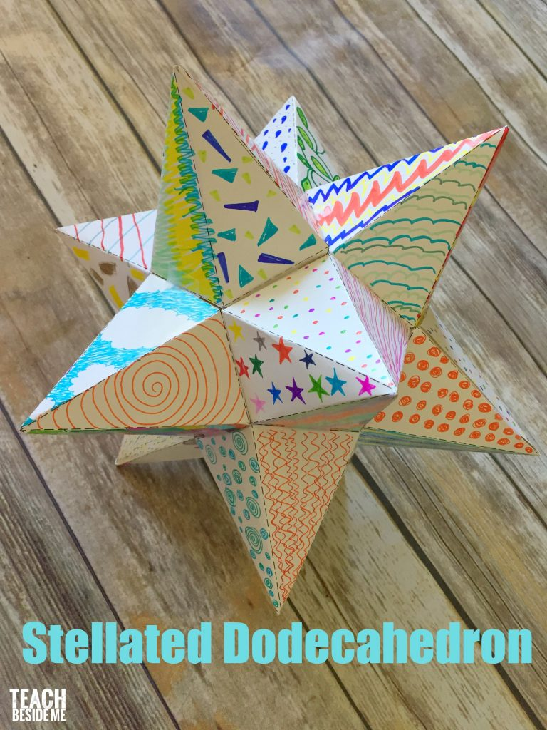 How to make an Origami Tornillo Module (Great Stellated ... | 1024x768