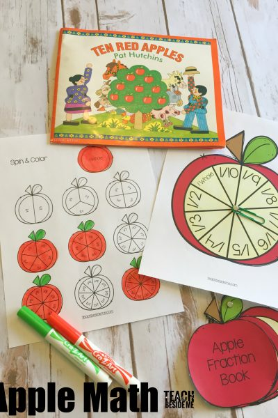 Apple Math: Counting & Fractions