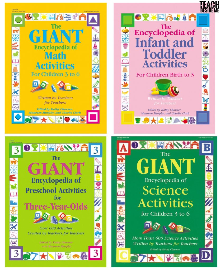Books for teaching toddlers and preschoolers