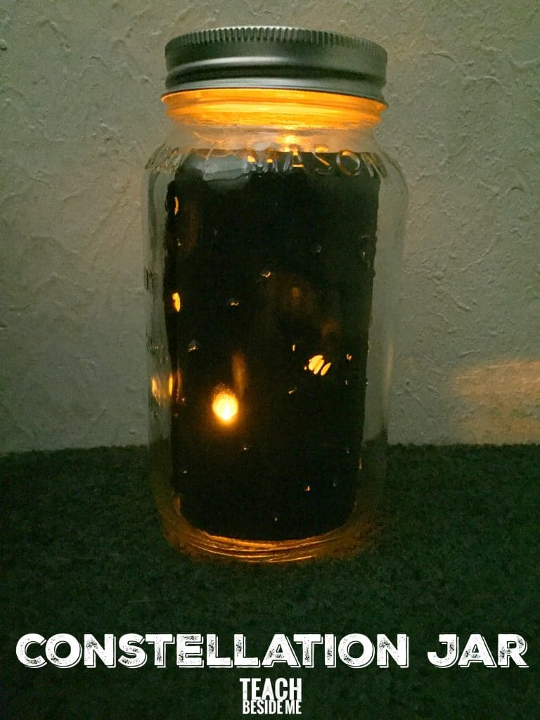 Constellation science jar