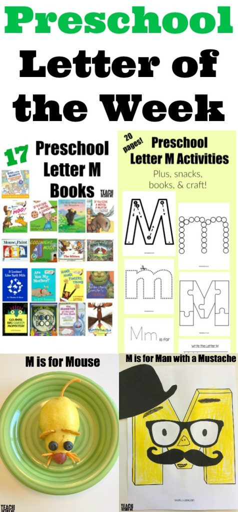 Preschool Letter of the Week Letter M