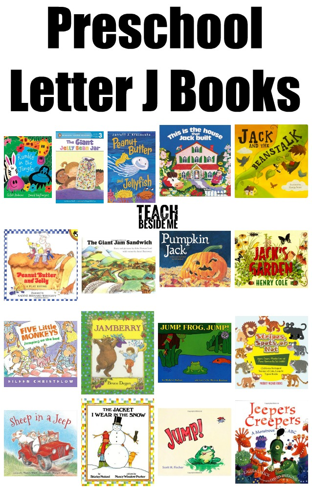 Preschool Letter J Books