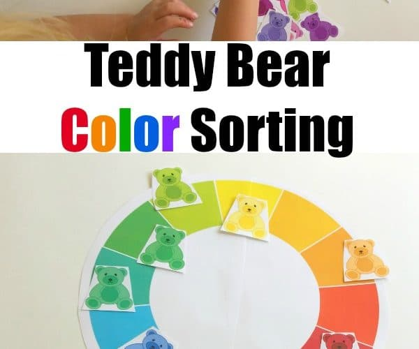 Teddy Bear Color Sorting