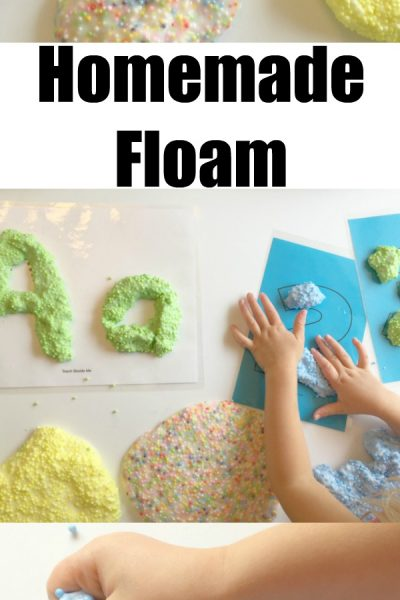 Homemade Floam for Learning and Play