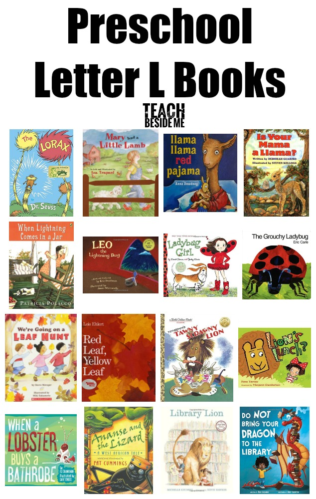 Preschool Letter L Books
