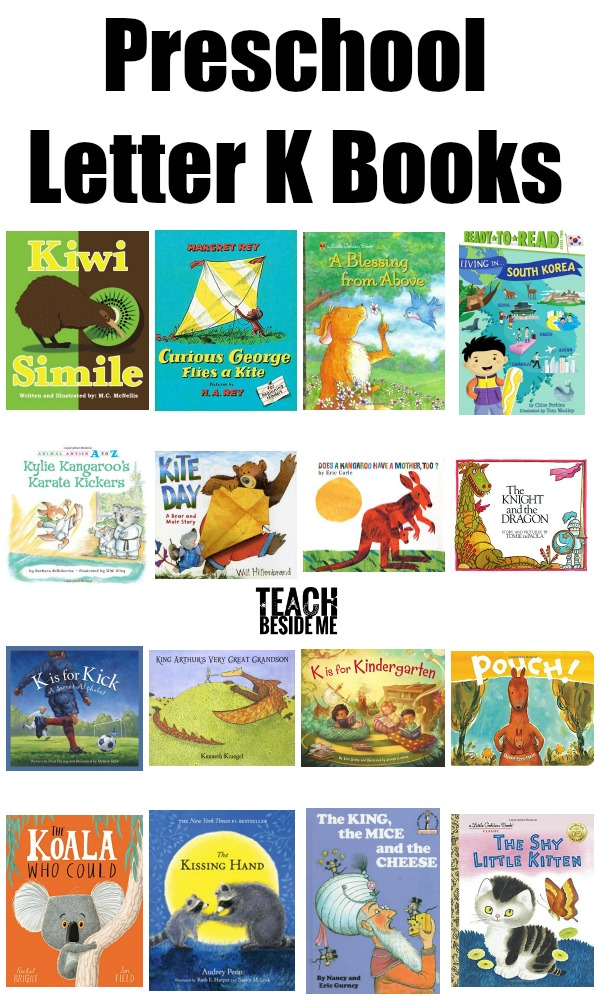preschool letter K books