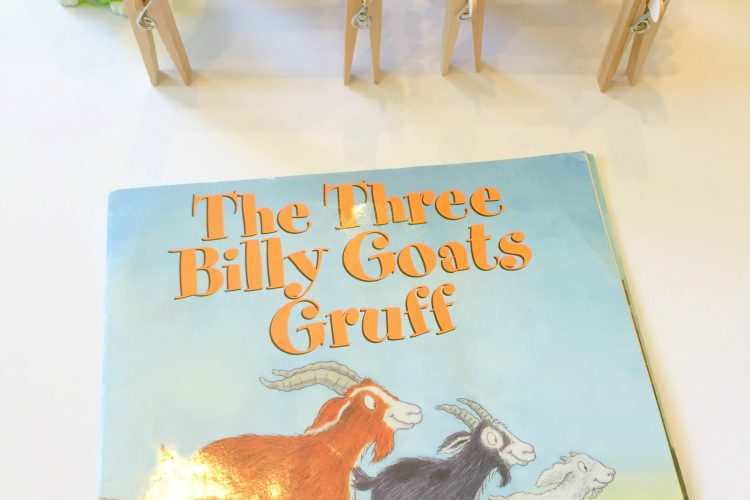 Three Billy Goats Gruff Storybook STEM