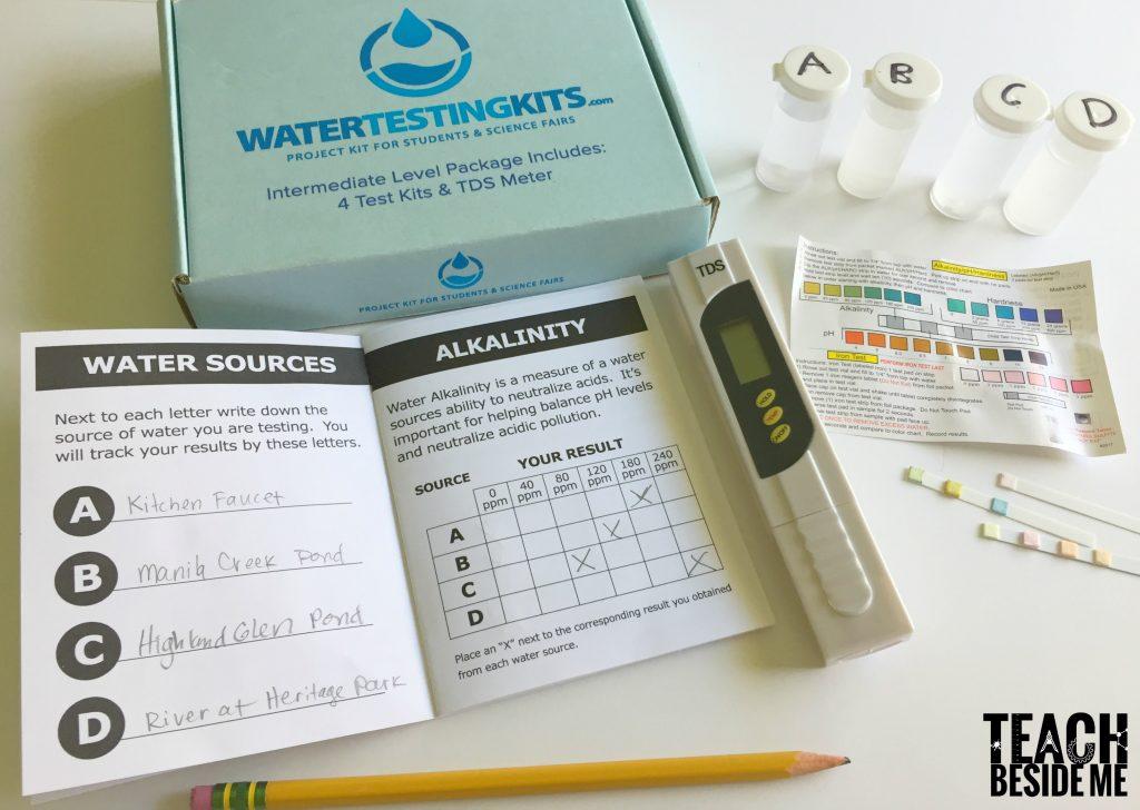 water testing- water STEM