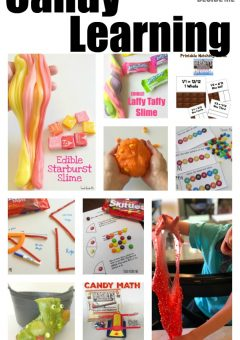 Candy Learning Ideas