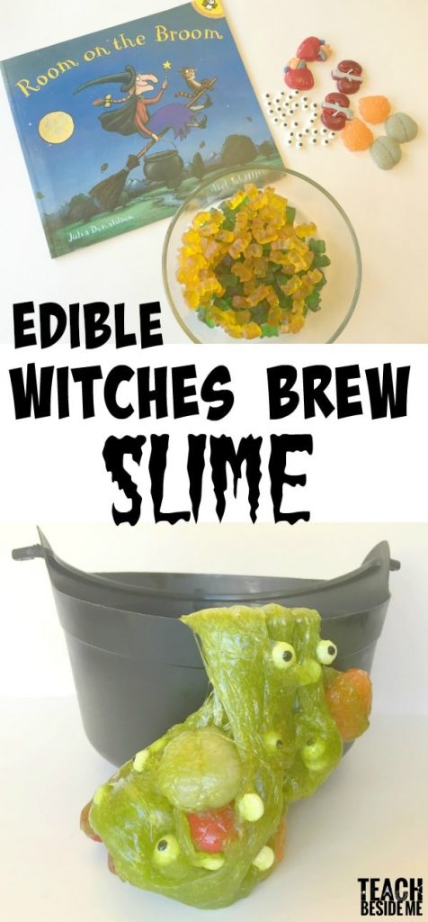 Edible Witches Brew Slime- Halloween