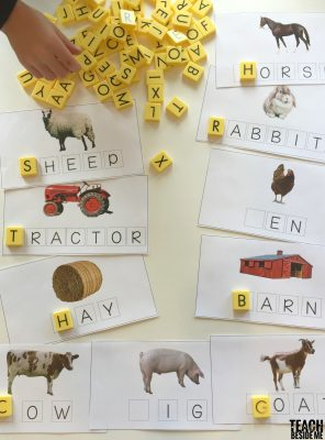Farm words spelling