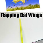 Halloween STEM: Flapping Bat Wings