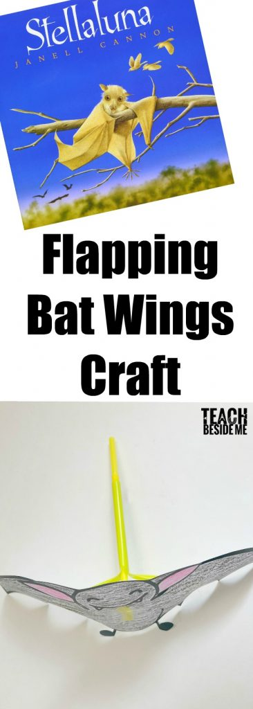 Halloween STEM- Flapping Bat Wings Craft- Stellaluna