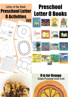 Letter of the Week: Preschool Letter O Activities