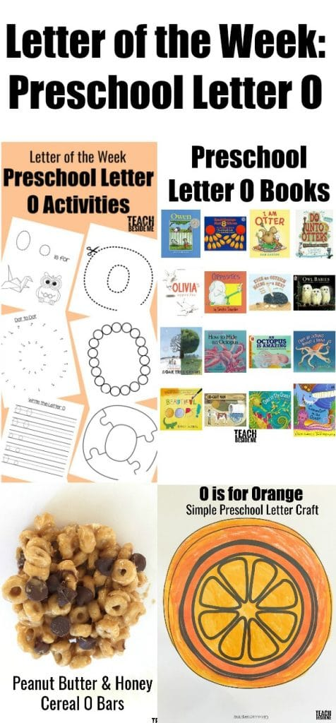 Letter of the week- preschool letter o