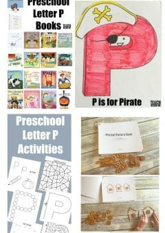 Letter of the Week: Preschool Letter P Activities