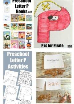 Letter of the Week: Preschool Letter P Activities