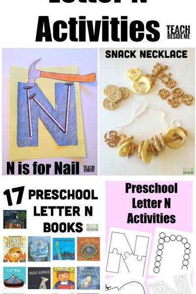 Letter of the Week: Preschool Letter N Activities