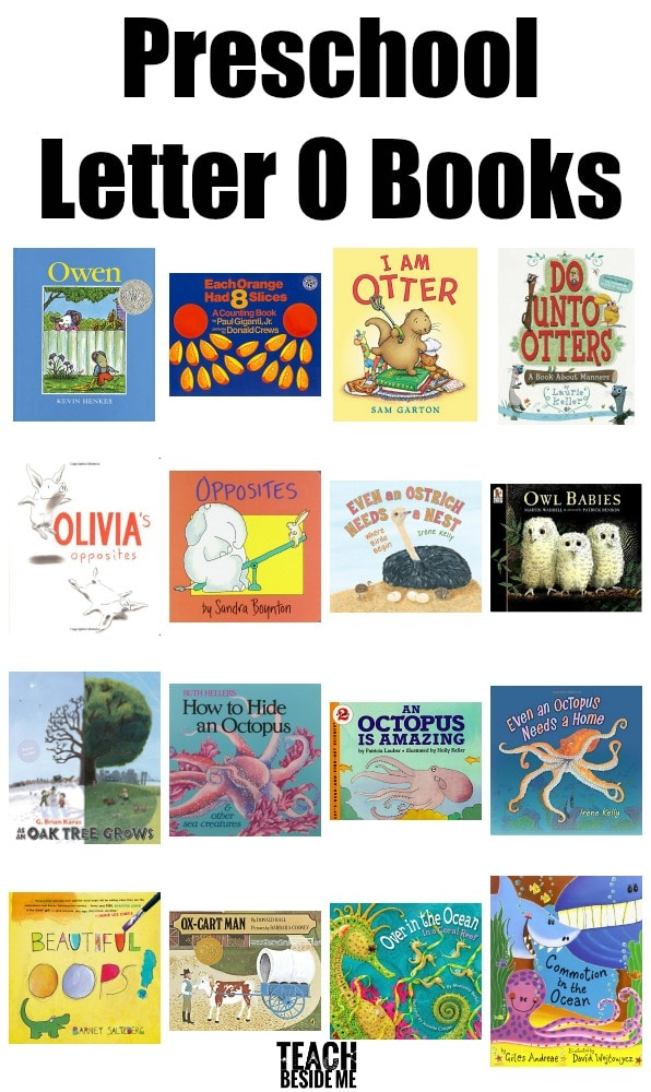 Preschool Letter O Books