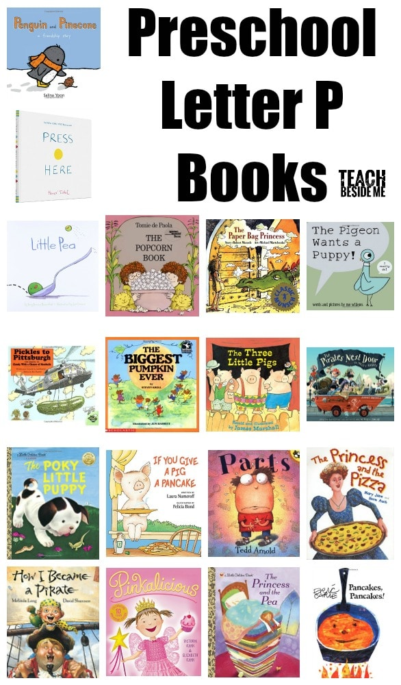 Preschool Letter P Books