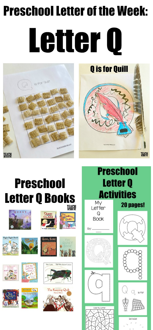 Letter of the Week Preschool Letter