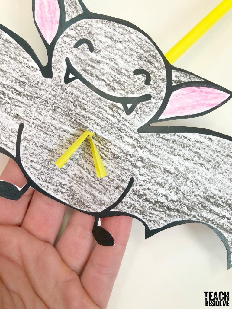 halloween bat craft- stellaluna