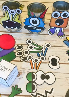 Building Magnetic Shape Monsters