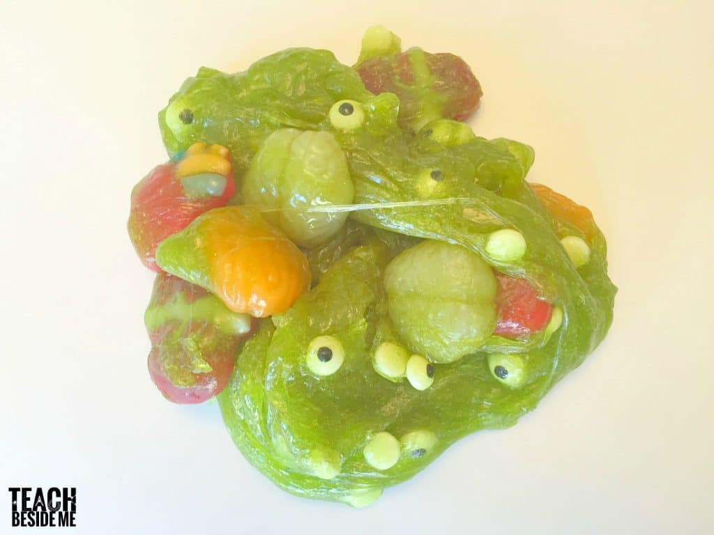 gross edible Halloween slime
