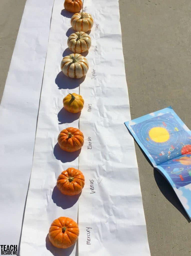 pumpkin planets solar system science