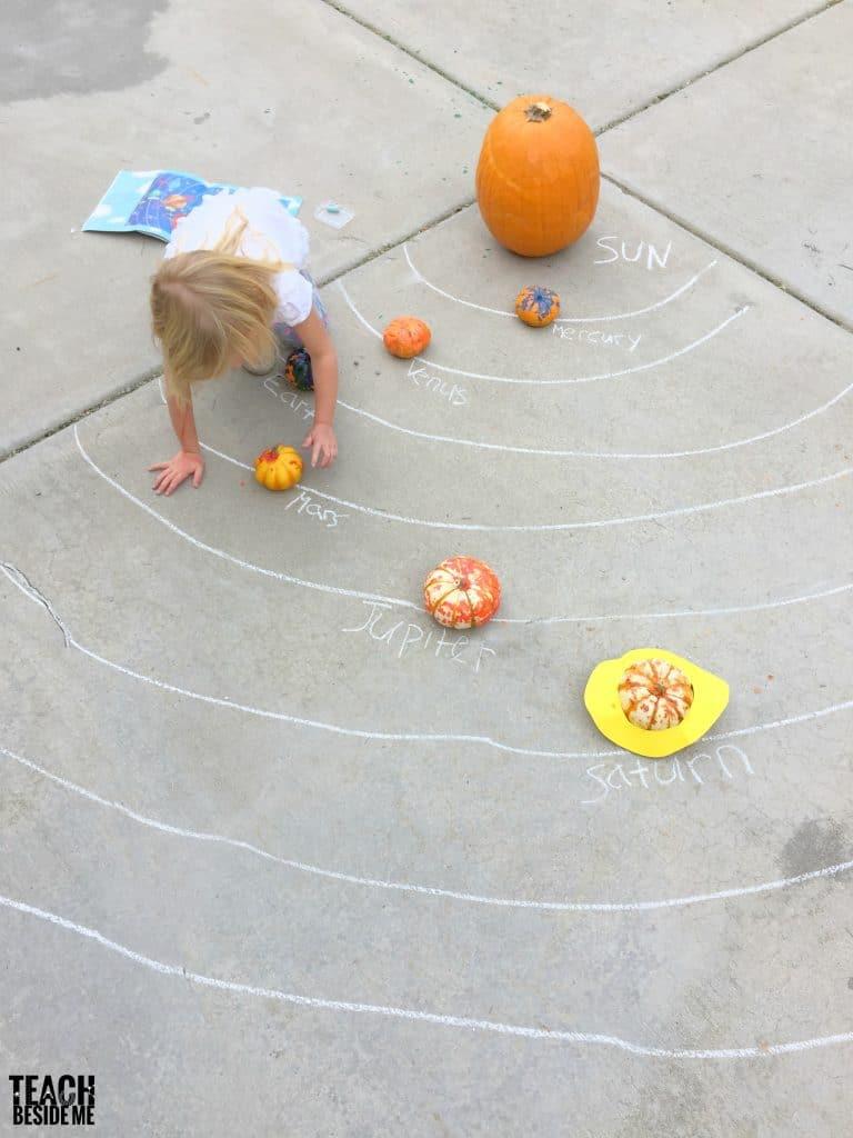 pumpkin science- solar system