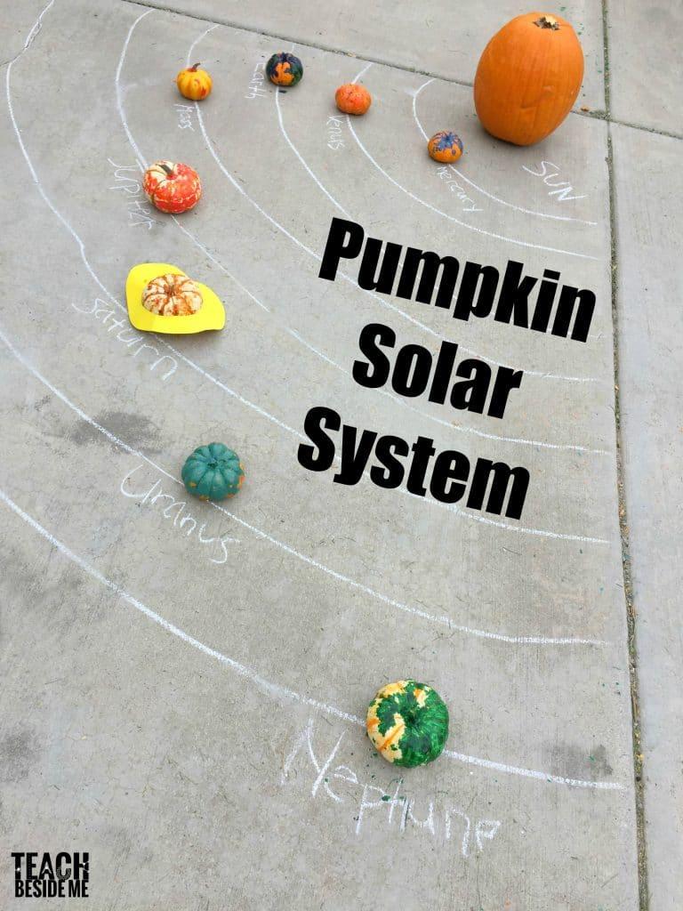 Pumpkin Science: Pumpkin Solar System