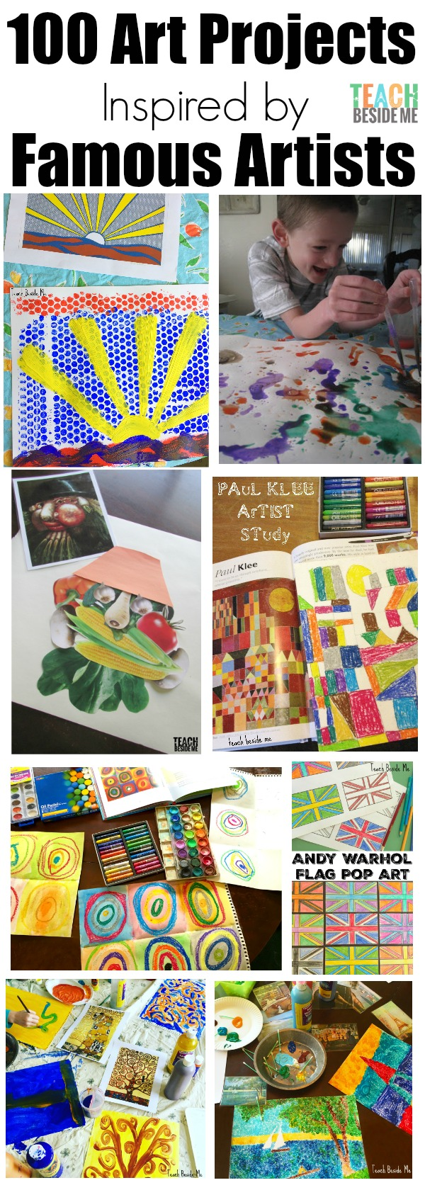 100 fine art projects for kids inspired by famous artists