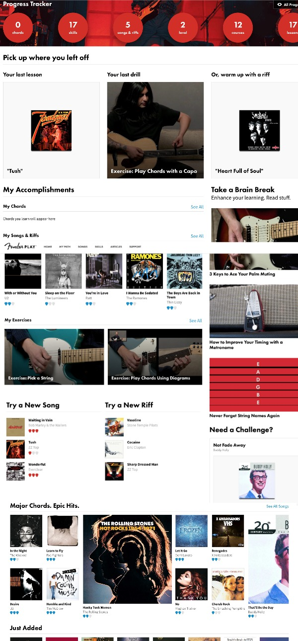 Fender Play Guitar Lessons for Kids