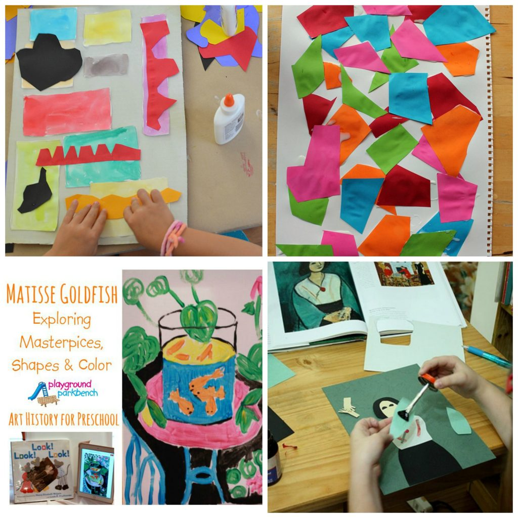 Matisse Art Projects for kids